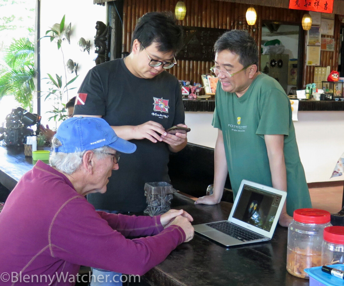 photo of William Tan, Eric Hou, and Ned DeLoach