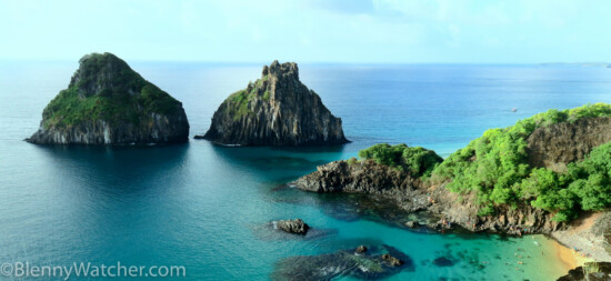 Two Brothers rocks (Morro Dois Irmaos) - Probably the most iconic view of Fernando de Noronha.