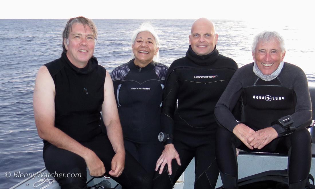 Ned & Anna DeLoach, Steve Kovacs, Al Rector